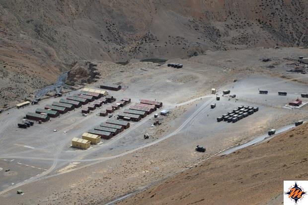 Ladakh, accampamento militare