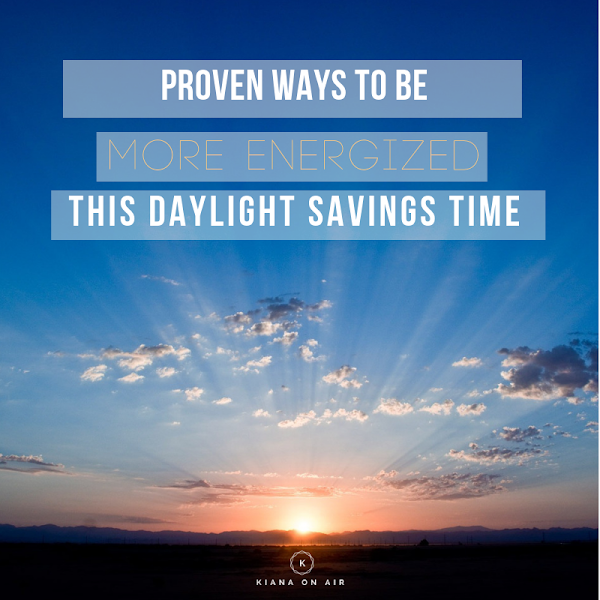 Hacks to Stay Awake & Energized This Daylight Savings