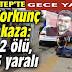 Gaziantep'te gece yarısı korkunç kaza! 2 ölü, 5 yaralı