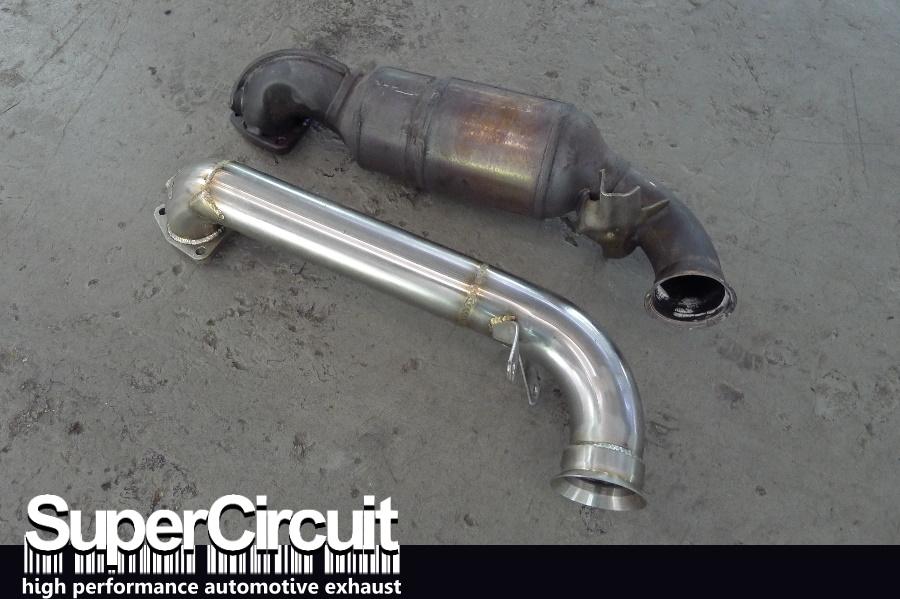 Supercircuit Exhaust Pro Shop Mini Cooper S R56 Downpipe