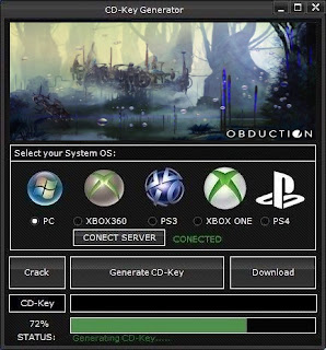 Obduction CD Key Generator (Free CD Key)