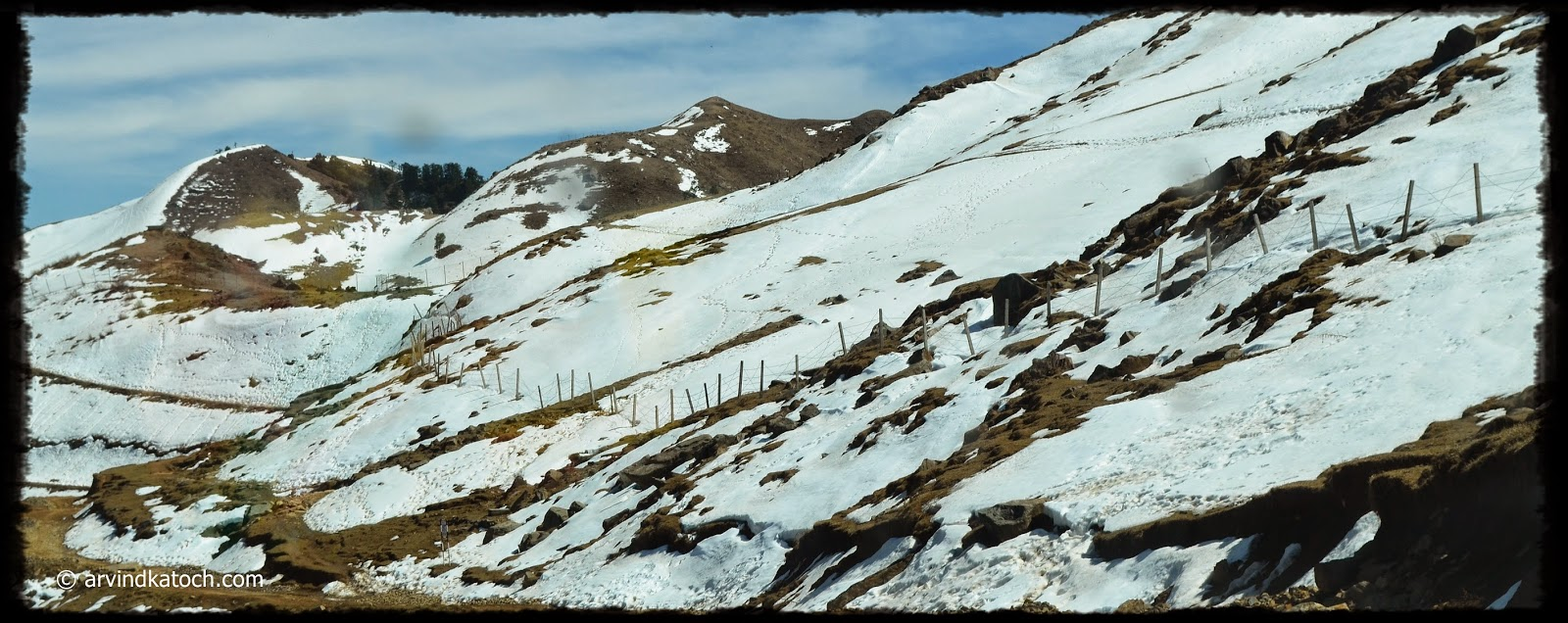 Snow, Prashar Lake