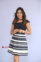 Actress Mi Rathod Pos Black Short Dress at Howrah Bridge Movie Press Meet  0104.JPG