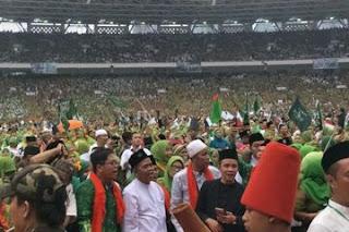Jokowi Hadiri Harlah Muslimat NU ke-73 di SUGBK