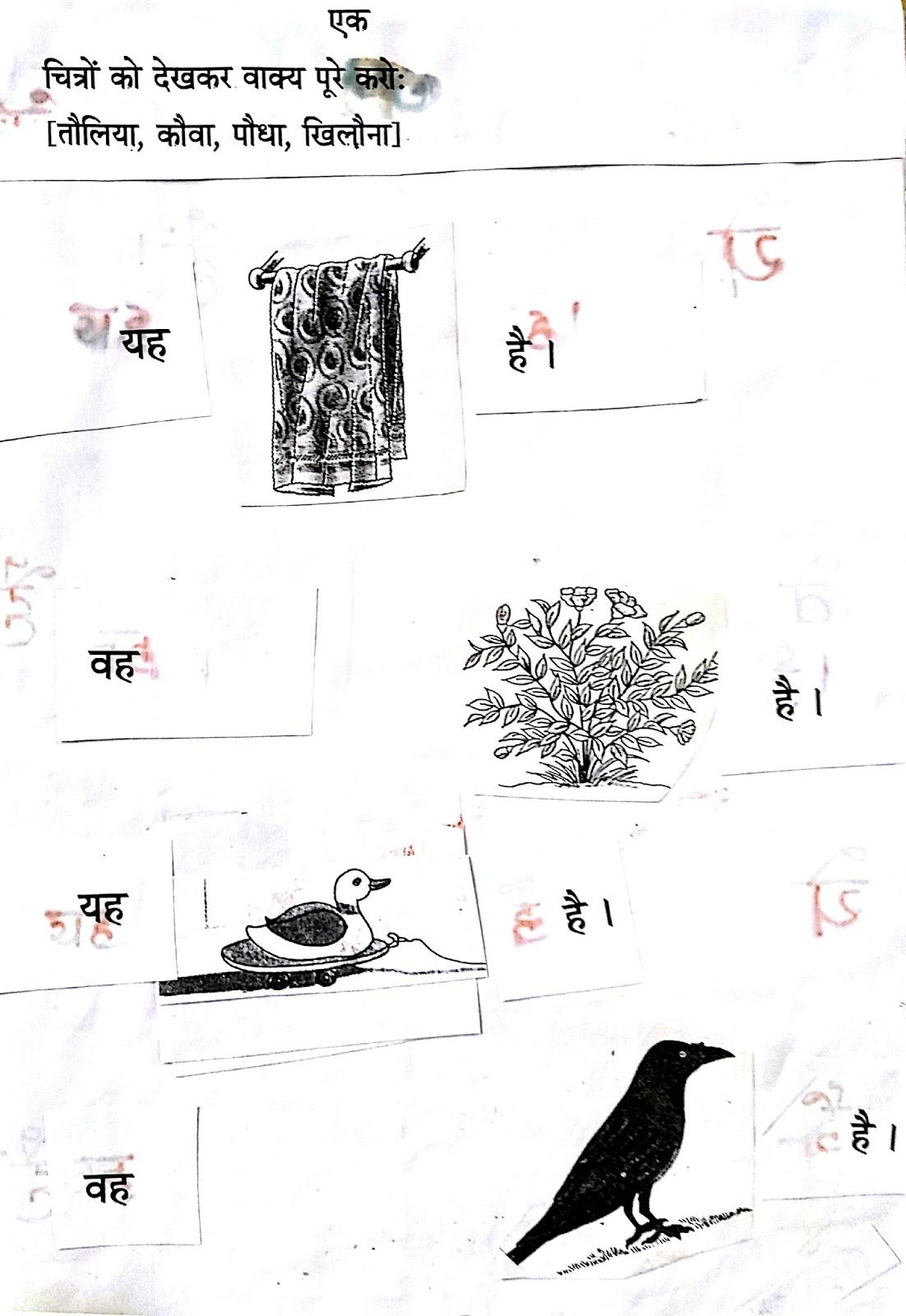 Hindi Grammar Work Sheet Collection For Classes 5 6 7 Amp 8 Singular Plural Work Sheets Fpr