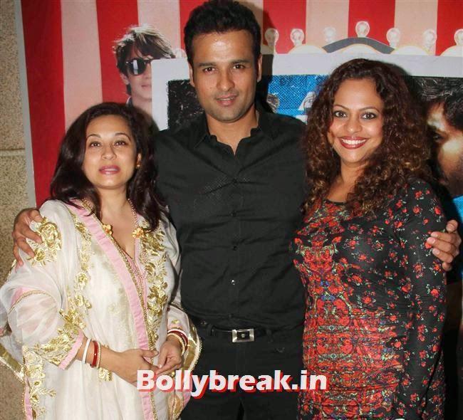 Manasi Roy, Rohit Roy, Shilpa Shetty, Bipasha Basu at Dishkiyaoon Premiere