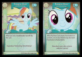 My Little Pony Rainbow Dash, Flyer Extraordinaire GenCon CCG Card