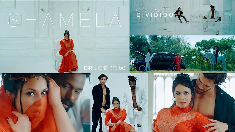 Shamela - ¨Corazón Dividido¨ - Videoclip - Dirección: Jose Rojas. Portal del Vídeo Clip Cubano