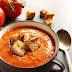 COMFORT ROASTED TOMATO AND RED PEPPER SOUP