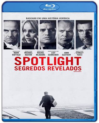 Baixar Spotlight Segredos Revelados AVI Dual Áudio BDRip Torrent