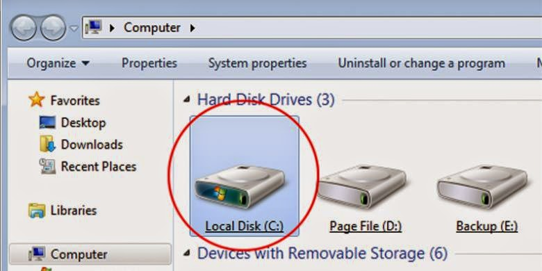"This is Why ""Hard Disk"" Computer Using the letter ""C"""