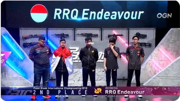 [Menegangkan] Final PBIC 2018 RRQ Endeavour vs Signature.PB