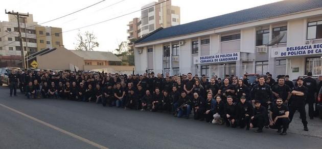 Polícia Civil faz operação em Canoinhas e Três Barras