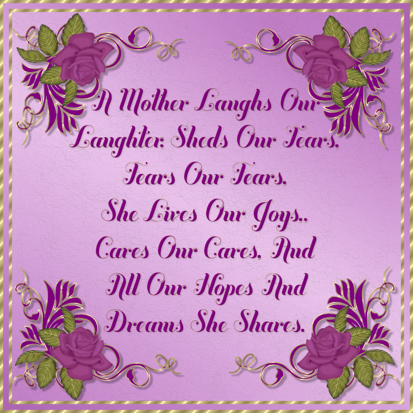 25+ Mothers Day Poems | PicsHunger