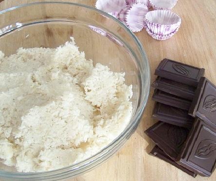 kokosowe kulki Paleo - przygotowanie