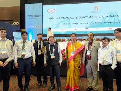 three national awards in the mining industry chhattisgarh