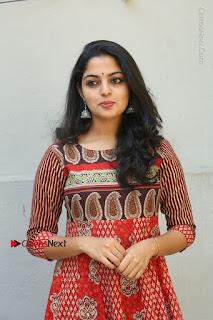 Telugu Actress Nikhila Vimal Latest Stills in Anarkali Dress  0032.JPG