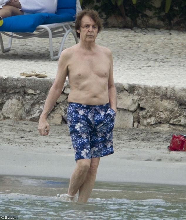 Paul McCartney And Nancy Shevell: Jamaica Vacation