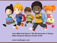 Soal UKK/ UAS Kelas 3 B. Sunda Semester 2