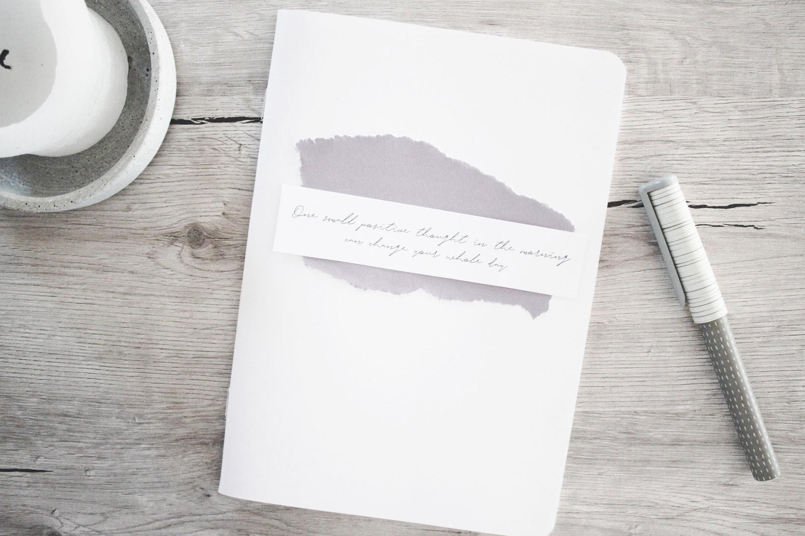 Minimalismus Bullet Journal Inspirationen  Momentsofmine