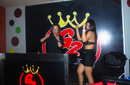 DJ Eva Foe Hangatkan G2 Entertainment Palembang
