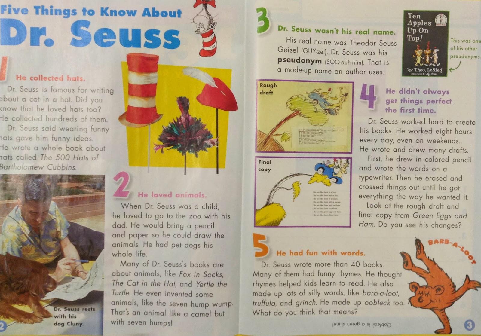 Grasty S 2nd Grade Goo S Main Idea Cut Mix And Match