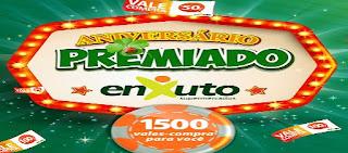 Cadastrar Promoção Enxusto Supermercados Aniversário 2016