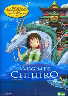 filme a viagem de chihiro dublado para