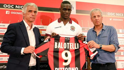 Balotelli muốn tập trung tại Nice