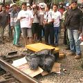 Lagi, Pria Tanpa Identitas Tewas Tertabrak Kereta Api di Karawang
