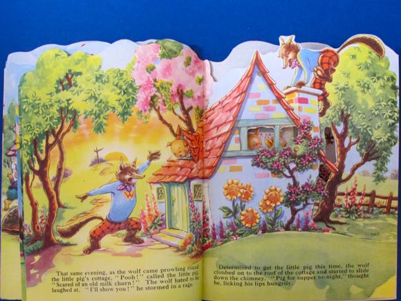 Kiddie Kut Books Molly B. Thomson The Three Little Pigs