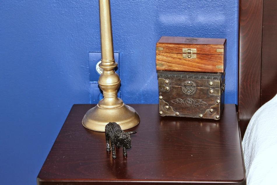 My hubby's nightstand
