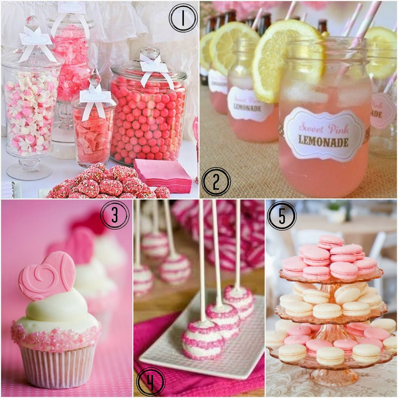 Young At Heart Mommy: Pretty In Pink Bridal Shower Ideas