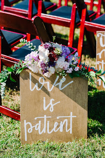 wedding sign prop
