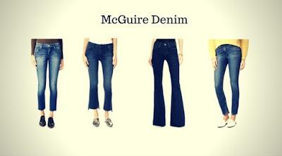 Calças Jeans Femininas da McGuire Denim