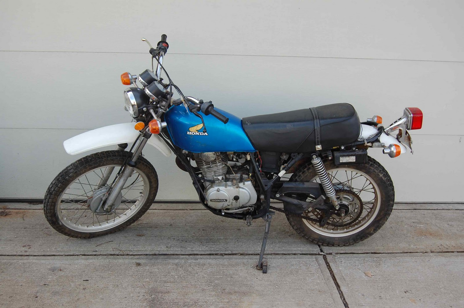 hight resolution of 1976 honda xl250 wiring diagram