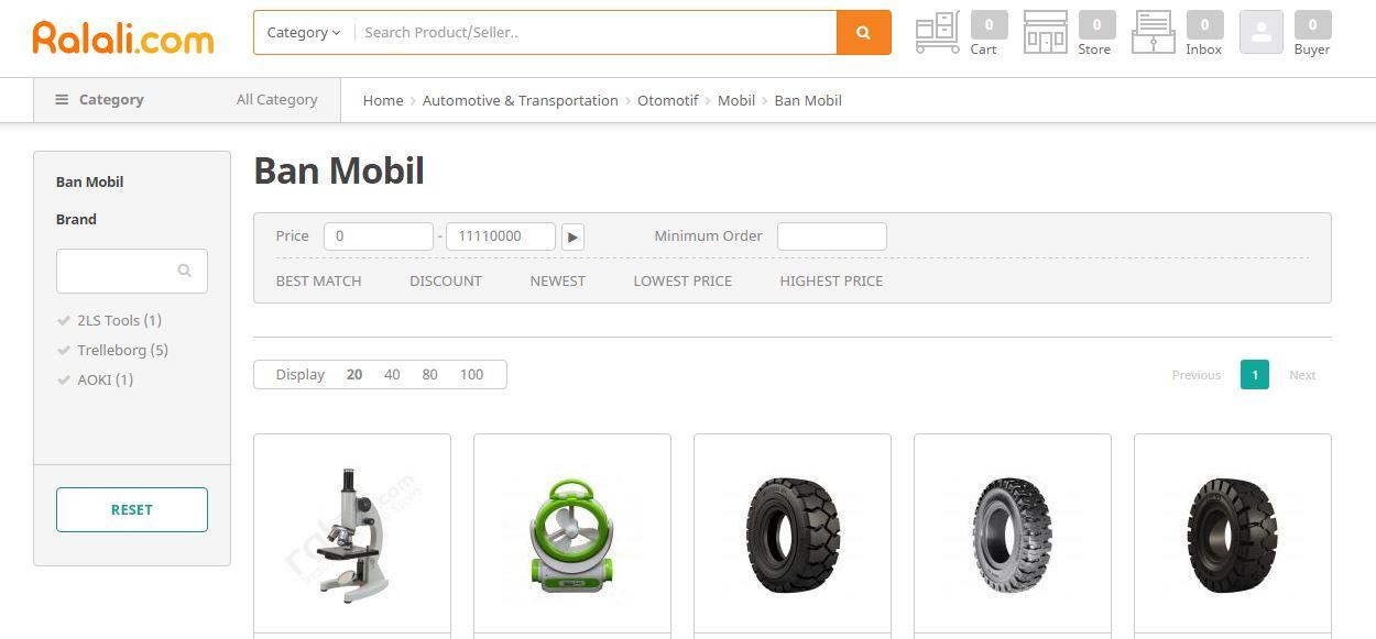 ralali.com B2B marketplace