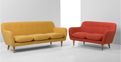 desain sofa retro minimalis kayu jati