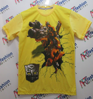 Kaos Anak Bumble Bee Transformer
