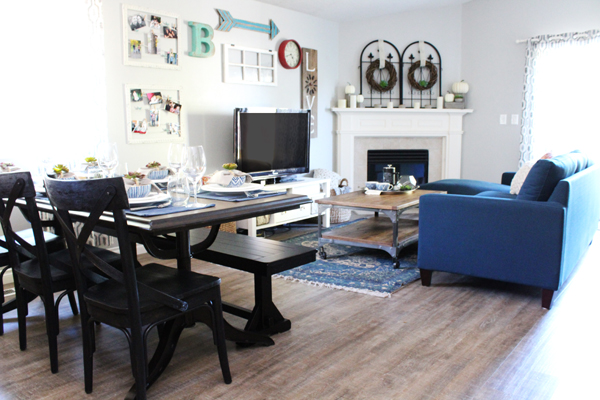 Read My Article (and See More Pictures Of My Living Room And Dining Room):  5 Secrets To Styling A Small Living Room + Dining Room Combo On The World  Market ...
