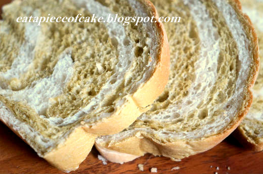 Piece of Cake: Green Tea Swirl Loaf