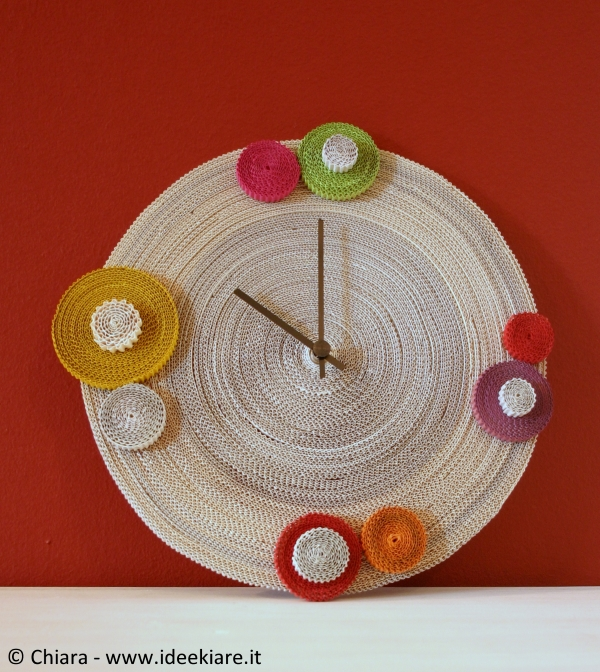 Tutorial per costruire un orologio da parete