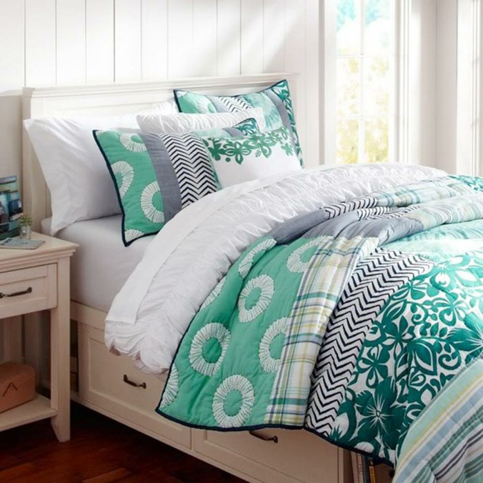 Abella design personalizing patterns with today 39 s best for Pretty bedding ideas