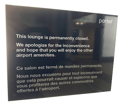 porter - This Lounge is permanently closed.