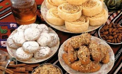Traditional Greek Christmas Sweets