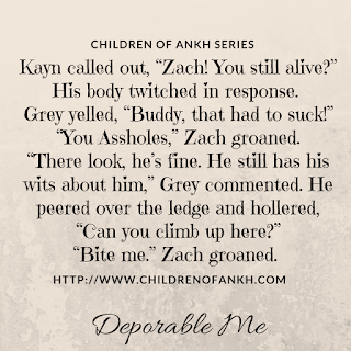 Deplorable Me Orders are Up -- Children of the Ankh