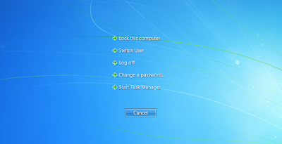 close a programs in windows 7