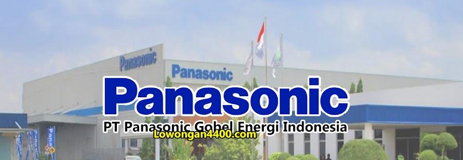 Lowongan PT Panasonic Gobel Energi Indonesia Cibitung