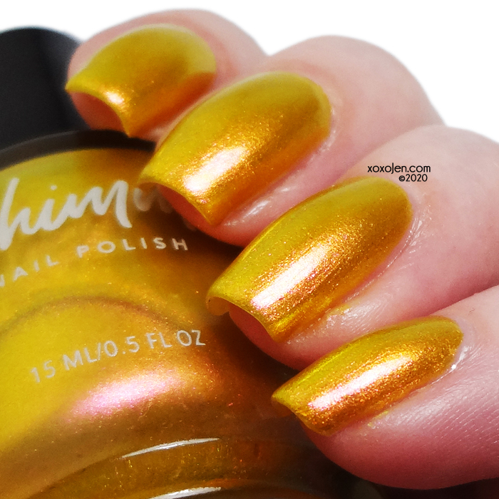 xoxoJen's swatch of KBShimmer Sun Kissed
