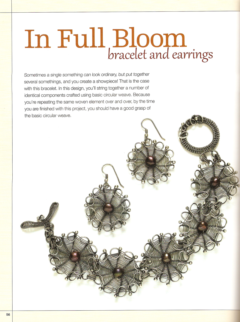 Book Review - Weaving Freeform Wire Jewelry - The Beading Gem\'s Journal